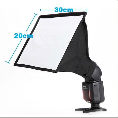 softbox para flash camara
