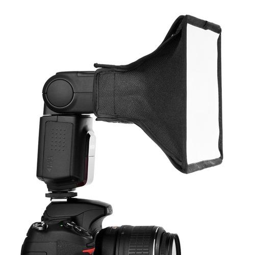 softbox para flash de cámara 20 x 15 cms