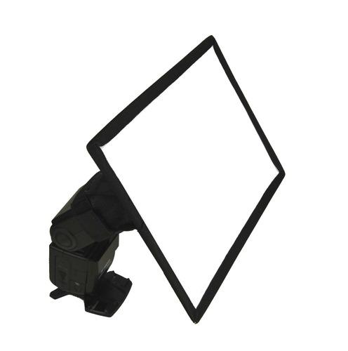 softbox para flash de camara 30 x 20 cms