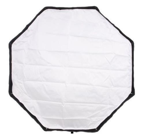 softbox sombrinha octagonal 80cm universal greika