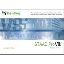 Staad Pro V8i Ingeniería Civil + Tutoriales De Manejo