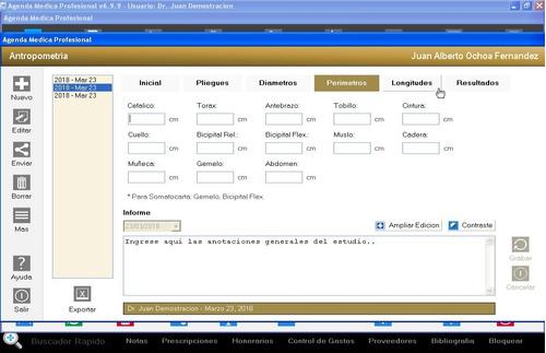 software antropometria somatogramas