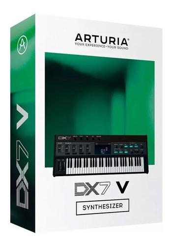 software arturia dx7 v licencia oficial original