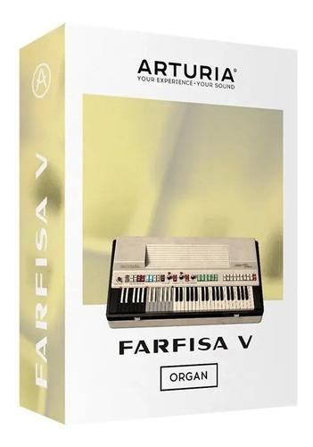 software arturia farfisa v organo original licencia oficial