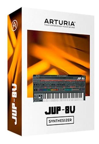 software arturia jup8 v jupiter 8 original + cuotas