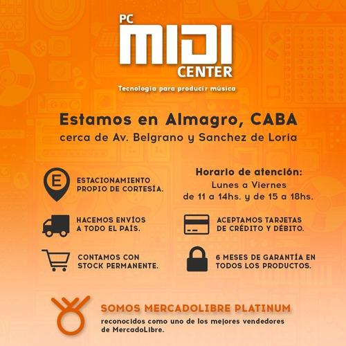 software arturia mini v mini moog original licencia oficial