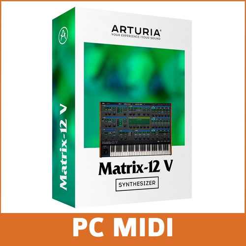 software arturia oberheim matrix 12 licencia oficial