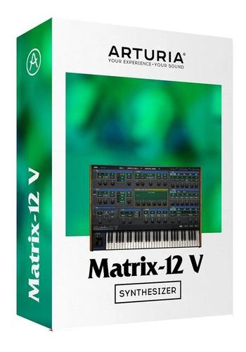 software arturia oberheim matrix 12 original cuotas