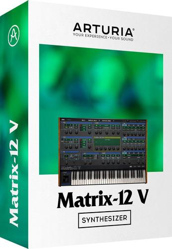 software arturia oberheim matrix 12 v licencia oficial