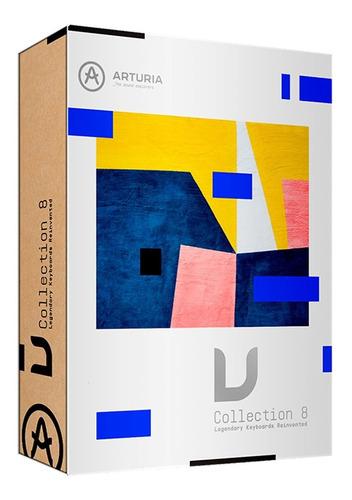 software arturia v collection 8 pack licencia oficial cuotas