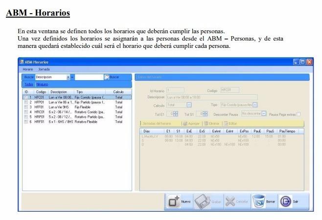 Software Asis Xxi Lite Control Asistencia Presentismo Zk