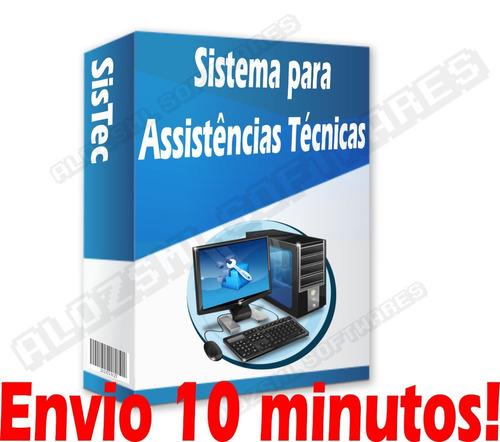 software assistência técnica, ordem de serviço, celular 2019