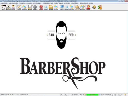 software barbearia barbershop  + agendamento v2 - fpqsystem
