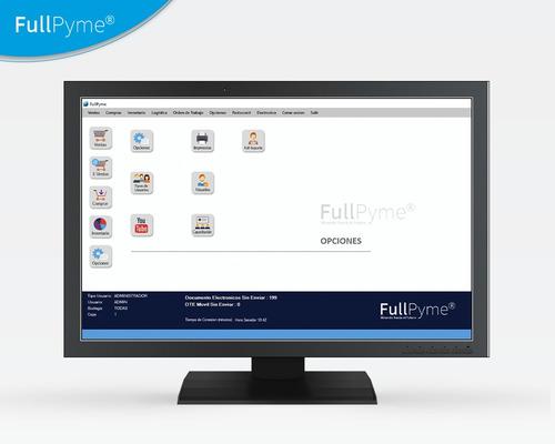 software boleta y factura electrónica fullpyme