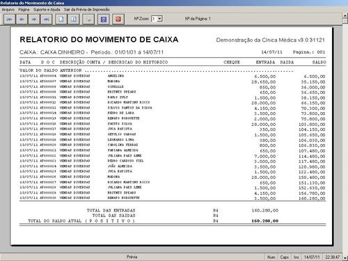 software clinica médica agendamento financeiro 3.0 fpqsystem