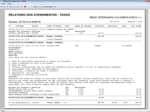 software clinica veterinária + agendamento e financeiro v4.0