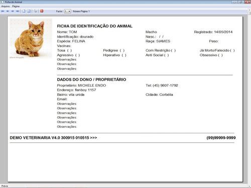 software clinica veterinária + financeiro 4.0 plus fpqsystem