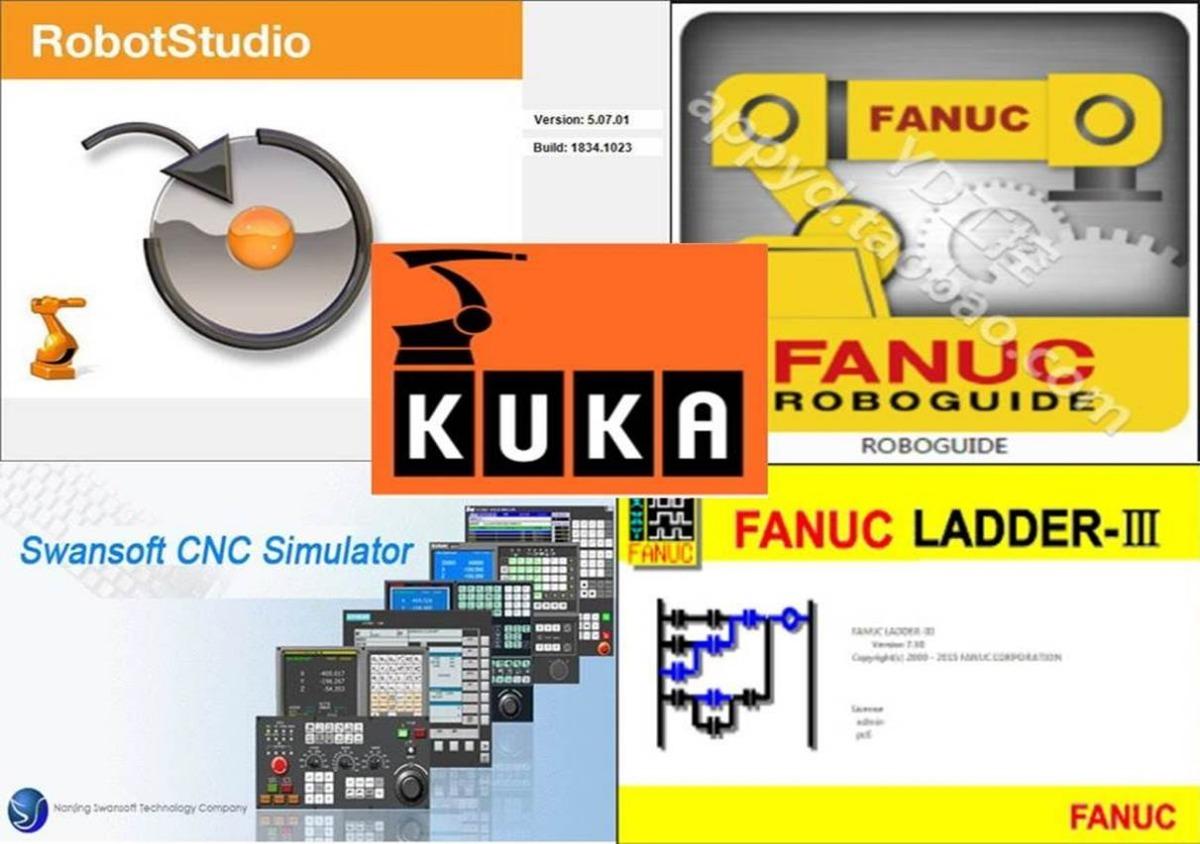 Software Cnc/robotica: Roboguide, Kukasim, Robotstudio, Cnc