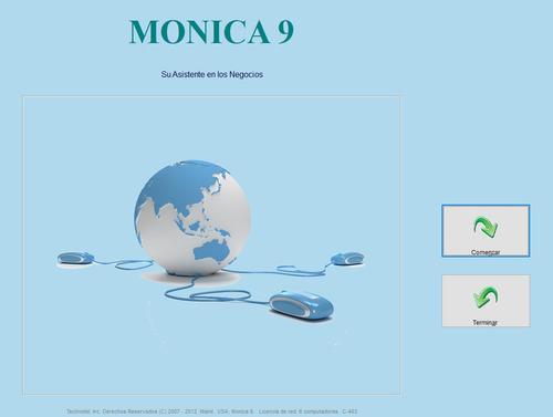 software contable monica 9 - software y hardware