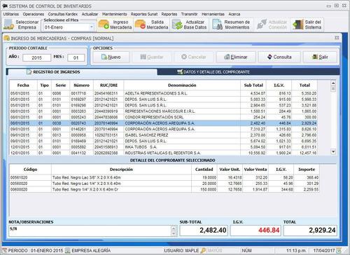 software control de inventarios - kardexmaple8