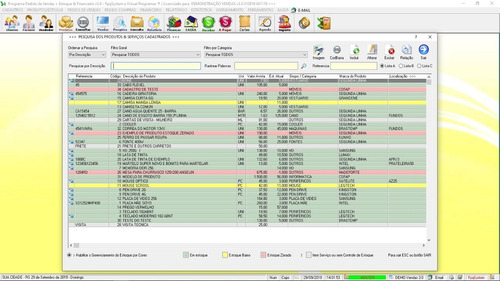 software controle de estoque vendas e financeiro v3.0 plus