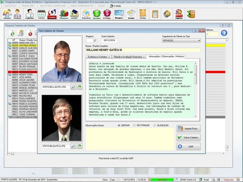 software controle financeiro, a receber, a pagar e fluxo 4.0