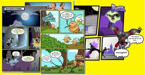 software criador de quadrinhos super herois marvel mangá