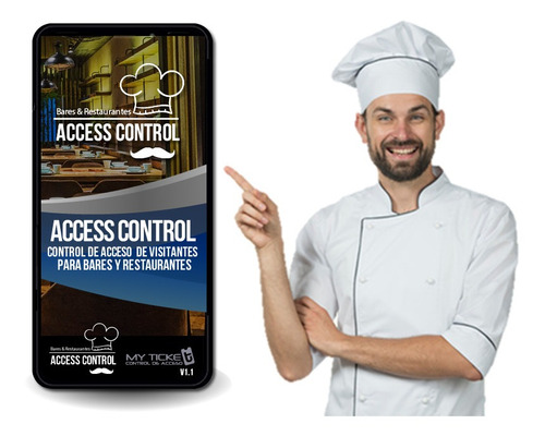 software de control de acceso de visitantes