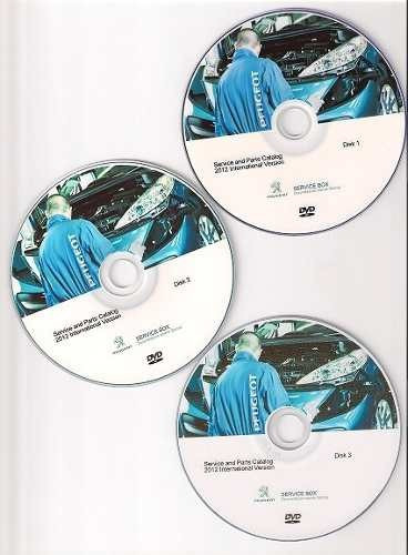 software de despiece peugeot 307, 2001-2012, en español