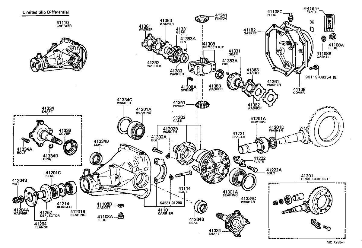 software de despiece toyota corolla 1983