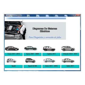 Software De Diagramas Eléctricos Para Vehículos Chevrolet