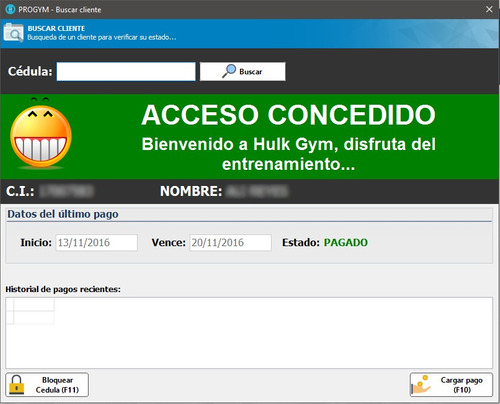 software de gestion de gimnasios progym
