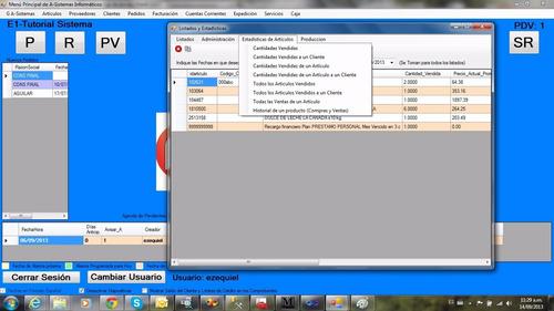 software de gestion pc adicional (requisito sist. servidor)