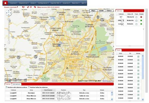 software de monitoreo remoto para gps tracker licencia anual