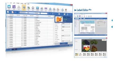 software de pesaje para balanzas industriales comerciales