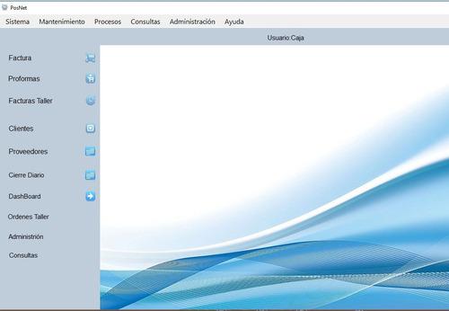 software de punto de venta completo con facturación electrón