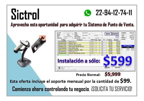 software de punto de venta (sictrol)