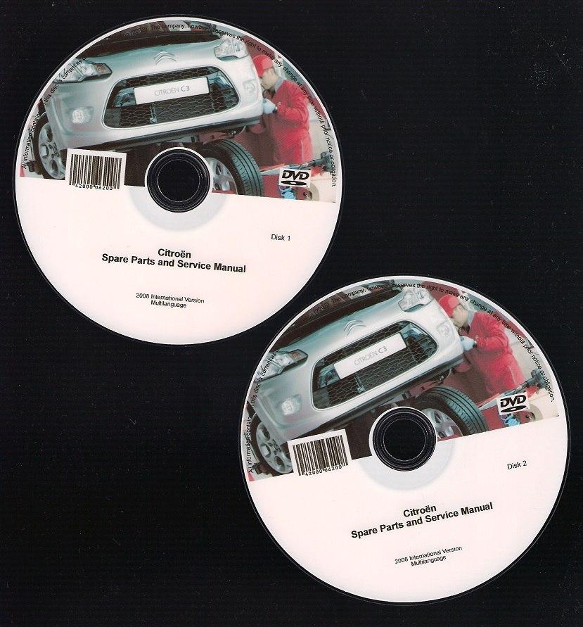 Software De Taller Citroen Xsara Picasso  1997-2006