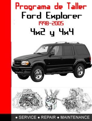software de taller ford explorer 98-2002