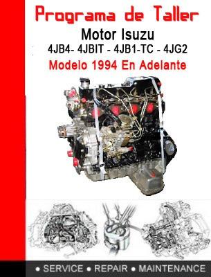 software de taller motor isuzu 4jb1 completo ingles