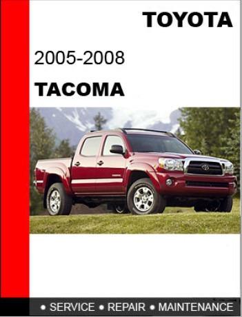software de taller toyota tacoma 2005-2008 ingles