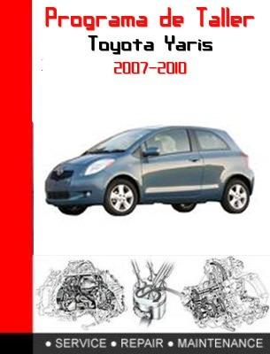 software de taller toyota yaris 2007-2010 completo ingles