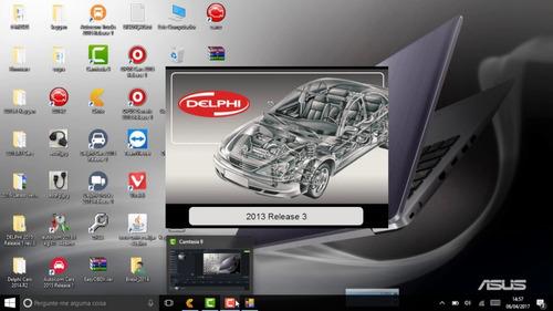 software delphi 2015.3.0 cars & trucks + ativador