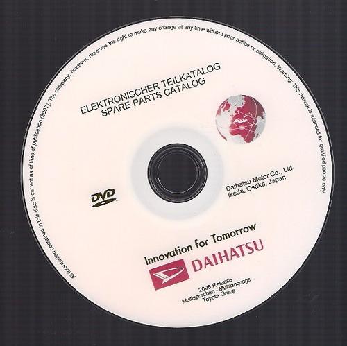 software despiece daihatsu