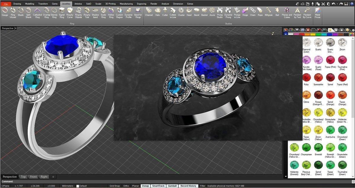 Software Diseño De Joyas Rhinogold