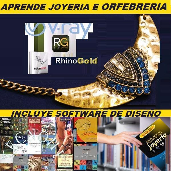 f56a8a93cc3a Software Diseños Joyeria + Planes Orfebreria Manuales Cursos -   20.000 en  Mercado Libre