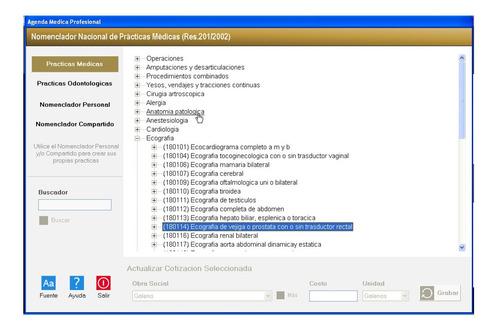 software dsm-iv + consultorios + historias clinicas + turnos