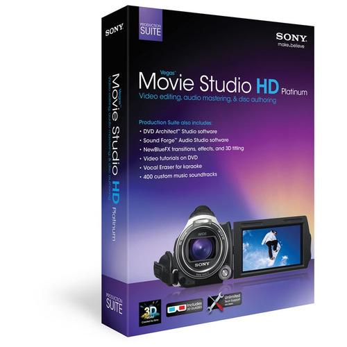 software dvd movie studio hd platinum 11 production suite