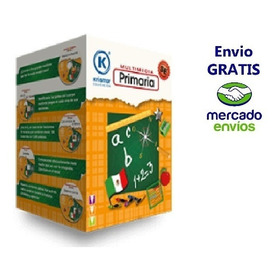 Software Educativo Multimedia Primaria 10 Cd Rom Original