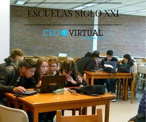 software educativo simulación empresarial escuelas jornadas